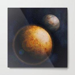 In deep space Metal Print