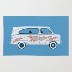 Grease Van Lightning Rug