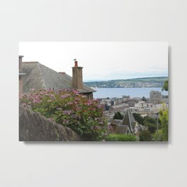 House on a Hilltop Metal Print