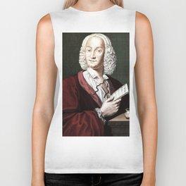 Antonio Vivaldi (1678-1741) by Morellon de la Cave in 1725 Biker Tank