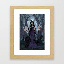 Hecate Framed Art Print