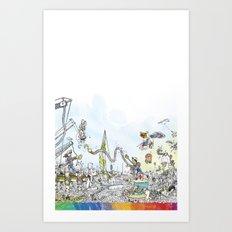 you're COLOR - Page 9 Art Print