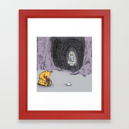 Deep in the Undead Acre Wood Framed Art Print