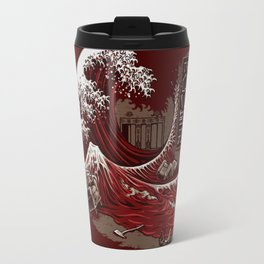 THE GREAT RED WAVE Travel Mug
