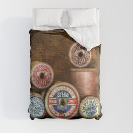 Old Cotton Bobbins Comforters
