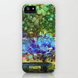 halcyon garden_katallie iPhone Case