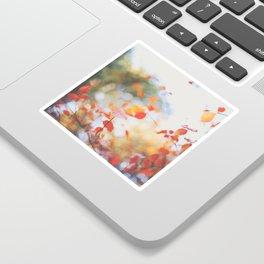 . Orange Leaves . Sticker