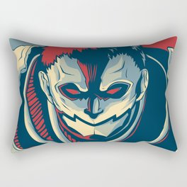 Armored Titan - Warrior Rectangular Pillow