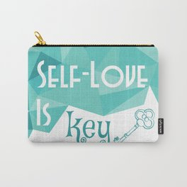 Self-Love is Key Carry-All Pouch