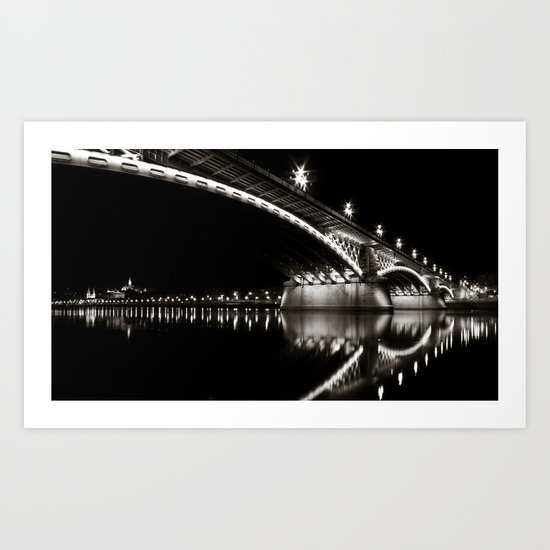 Margaret Bridge V. Art Print
