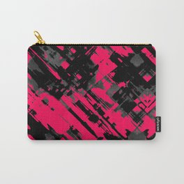 Hot pink and black digital art G75 Carry-All Pouch