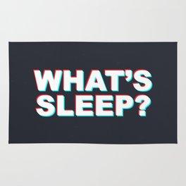 Whats Sleep? Rug