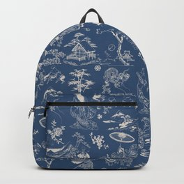 Hokusai - Big Wave of Kinagawa Backpack