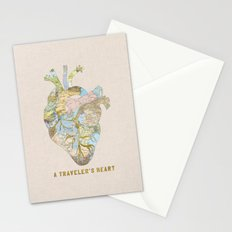 A Traveler's Heart Stationery Cards