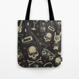 Rock pattern Tote Bag