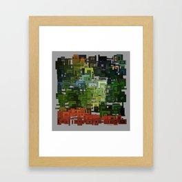 Aztec Forest Framed Art Print