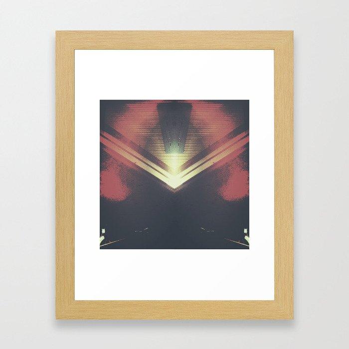 ABSTRACTNESS Framed Art Print