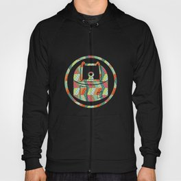 retro pattern and observatory 2 Hoody