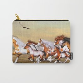 Wild Horses Herd Carry-All Pouch