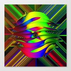 Einstein's Rainbow Canvas Print