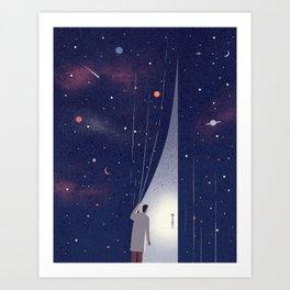 Alien Life Art Print