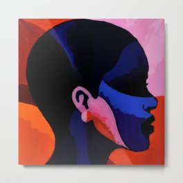 The Black Woman 1 Metal Print