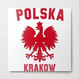 KRAKOW Metal Print