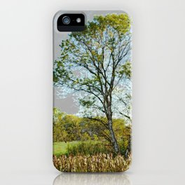 The glow of summer iPhone Case
