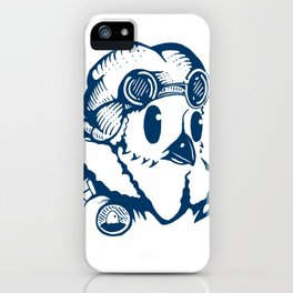 Sergeant Fluff n Feathers iPhone Case