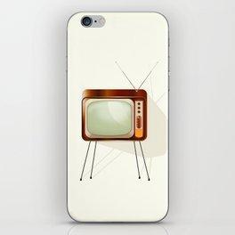 Vintage Television iPhone Skin