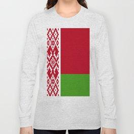 Belarus flag emblem Long Sleeve T-shirt