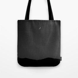 Minimal Moon. Tote Bag