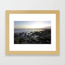 Shorncliffe Foreshore 001 Framed Art Print