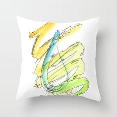 Flow Series #15 Throw Pillow