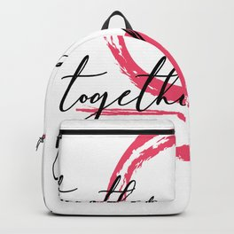 Girls together we can Backpack