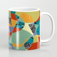 the 100 Mugs featuring Abstract #100 by Ron Trickett