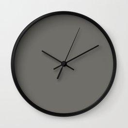 Cold Shoulder ~ Clay Wall Clock