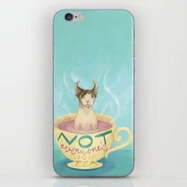 Not Everyone's Cup Of Tea - Sphynx Cat - Part 5 iPhone Skin