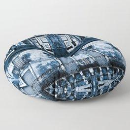 CLASSIC BLUE SICILIAN SOUND Floor Pillow