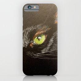 Black cat 2 iPhone Case