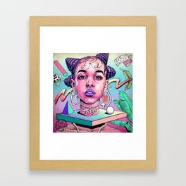 FKA (video girl) Framed Art Print
