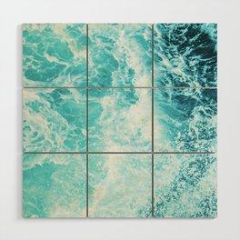 Perfect Sea Waves Wood Wall Art