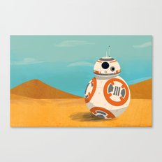 The Little Droid That Could Canvas Print