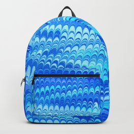 Marbled Non-pareil Blue Backpack