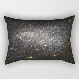 s Hubble image shows NGC 4789A, a dwarf irregular galaxy in the constellation of Coma Berenices Rectangular Pillow