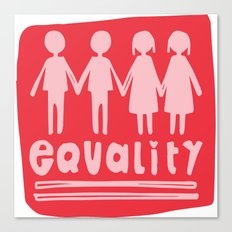 Equality Love II Canvas Print