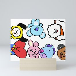 BT21 BTS Run Episode 33 Inspired Mini Art Print