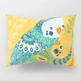 Parakeet Pals Pillow Sham