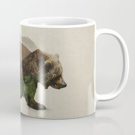 North American Brown Bear Coffee Mug
