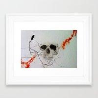 rogue Framed Art Prints featuring Rogue by Art of Jason Coe